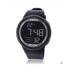 XONIX 100m  Waterproof Fashion Digital Watch men , Outdoor Digital sport watch , Swimming Diving men's watch relogio masculino
