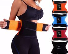 Waist Trainer Hot Shapers Belt Fajas Corset Exercise Belt Fitness Belt Tummy Trimmer Slim Shapewear Waist Body Shaper Women(China)