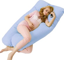 Sleeping Pregnancy Pillow Belly Contoured Maternity U Shaped Body Pillows almohada viscoelastico For Side Sleeper Remov(China)