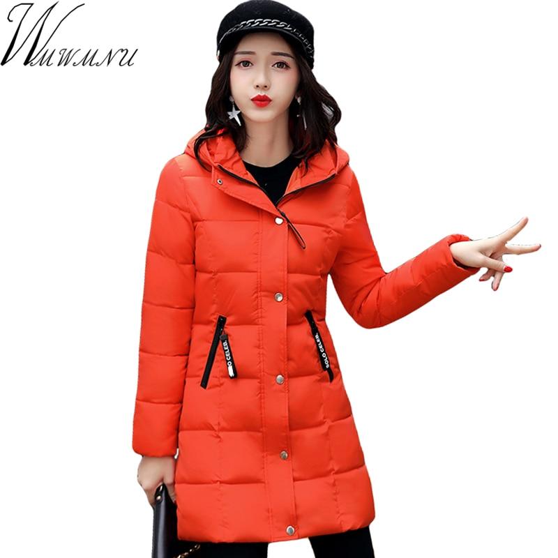 Wmwmnu many color medium long Parkas For Women Winter Fashion Jacket Womens Thicken Outerwear Hooded Coats Female Slim ParkaÎäåæäà è àêñåññóàðû<br><br>