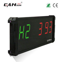 "[Ganxin]4"" Plus New Design Programmable Aluminium Alloy Customized Low Price Led Fitness Timer"