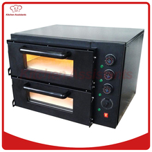NB300 Economic 2 deck Stone Pizza Bread Baking Oven of bakery equipment