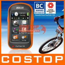 Holux FunTrek 132 update Funtrek 130 Handheld GPS / track recorder / bike / outdoor / measuring instrument