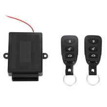 433.92MHz Universal Remote Control Car Alarm Systems Kit Door Lock Keyless Entry System Central Locking Smart Alarm For Car(China)