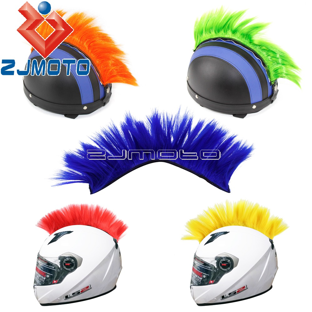 Motorcycle Dirt Bike Ski Helmet Mohawk Racing Helmet Headwear Decals Sticker New