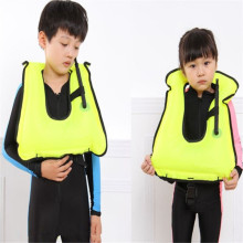best quality Inflatable Life Vest water sports Life Jacket Swimming jacket life jacket Children learn swimming buoyancy vest(China)