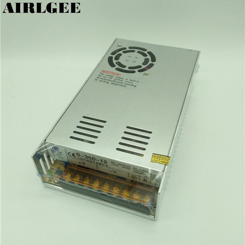 S-350-12 Super Stable 350W DC12V Switching Power Supply 29A<br>