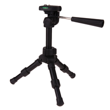 VODOOL Mini Handle Quick Release Plate DSLR Tripod Portable Digital Camera Camcorder Tripod Stand Low Angle Photography Tripod