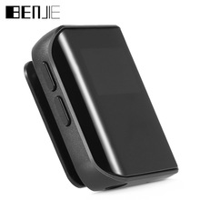 BENJIE K10 Mini Clip MP3 Player 8GB 0.96 inch OLED Screen Digital MP3 Music Player with FM Radio E-book Lossless Sound Player(China)