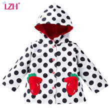 Buy LZH 2017 Autumn Girls Jacket Girls Strawberry Embroidered Raincoat Coat Boys Jacket Kids Outerwear Coat Children Clothes for $10.99 in AliExpress store