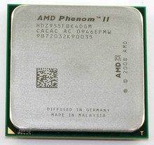 AMD Phenom II X4 955 125W 3.2Ghz L3=6MB Quad-Core Processor Socket AM3 938-pin cpu