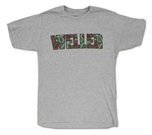 "PAUL WELLER ""PAISLEY"" HEATHER GREY BAND MUSIC T-SHIRT NEW OFFICIAL ADULT create my own t shirt"