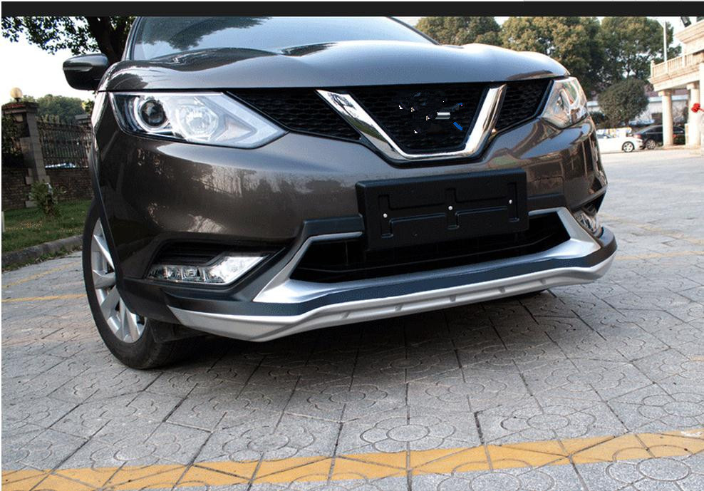 FIT-FOR-NISSAN-QASHQAI-2016-CHROME-FRONT-LOWER-MESH-GRILL-GRILLE-COVER-TRIM-GUARD-MOLDING-car (2)