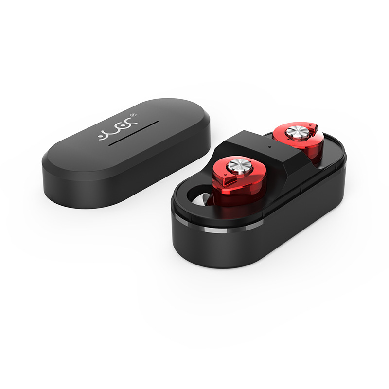 Mini Twins Wireless Bluetooth Earphone Handfree in ear Stereo Earbuds Sports Headsets with Power Bank For ios Android phone<br>