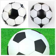 "18"" Round soccer/Football balloons 20pcs/lot Inflatable toys for children games Kids birthday party decorations balloons"