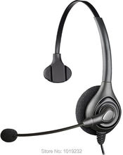 Additional 1 pcs EAR PAD +RJ9 plug headset Call center office headset ONLY for CISCO Telephone 7940 7960 7960 8941 8945 etc