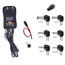 100-240V TO 3V,4.5V,5V,6V,7.5V,9V,12V 30W Universal Adjustable AC/DC Charger Adapter Switching Power Supply +5V 2.1A USB Port(China)