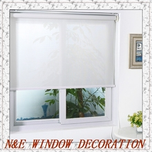 Popular sunscreen blinds/double-layer roller blinds/ready made curtain/curtain fabric window curtain/Roller blinds