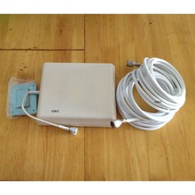 800 -2500MHz  PANEL Antenna, INDOOR ANTENNA for cellphone GSM booster, CDMA DCS 3G  signal repeater +10m cable