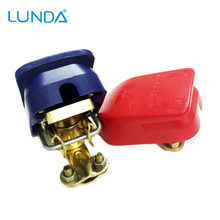 LUNDA Car Battery Connector Battery Quick Disconnect Quick Connector Battery Terminal Connector with Caps Top Posts(Hong Kong)