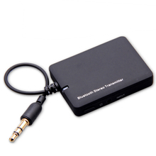 Mini Bluetooth Audio Receiver 3.5mm Bluetooth Music Transmitter Transmite A2DP Stereo Dongle Adapter for iPod Mp3 Mp4 Speaker(China)