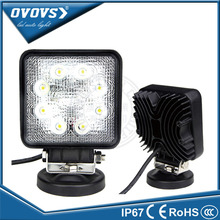 PCS square wholesale auto part work lamp 12v 24w led offroad work light for truck offroad ATV SUV
