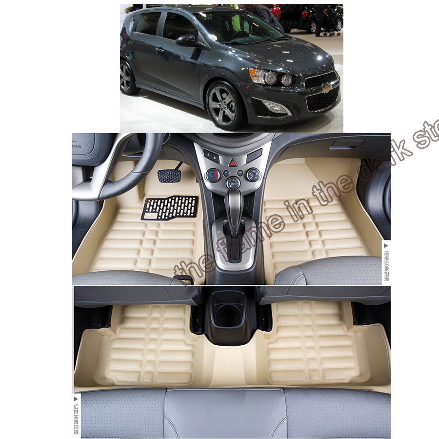 free shipping leather car floor mat carpet rug for Chevrolet aveo sonic t300 2nd generation 2011 2012 2013 2014 2015 2016 2017<br><br>Aliexpress