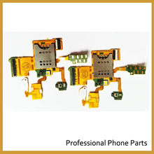 Replacement Original SIM Card Slot Flex Cable For Sony Ericsson Xperia ray ST18 ST18i , Free Shipping(China)