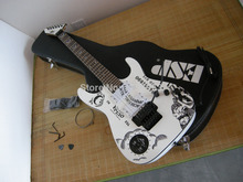 Factory custom shop 2015 Newest White KH-2 Kirk Hammett Ouija Electric Guitar with case 7 6