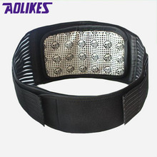 AOLIKES Tourmaline Products Self-heating Magnetic Waist Back Support Brace Belt Lumbar Warm Protector posture corrector abdomen(China)