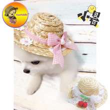 Hand Made Four Choice pet hats pets cap dog caps cat grooming dogs suppliers pets clothing for Teddy Poodle Chihuahua(China)