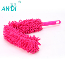 ANDI Flexible Soft Microfiber Anti Static Cleaning Feather Duster Magic Dust Cleaner Handle Fit For Home Office Color Randomly