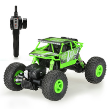 Boys Toys Car NO.Q22A Upgraded Version 2 Channels 1:18 Scale 2.4GHz 4WD RTR Rock Crawler ABS Remote Control RC Cars Big Foot