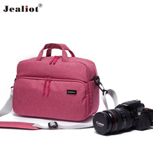 2017 Jealiot Oro 2003 pink Camera Bag shoulder bags digital camera foto travel bags waterproof Video Photo case for Canon DSLR(China)