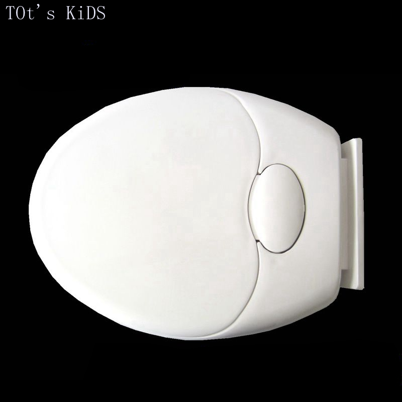 toilet lid cover soft closing baby adult double use white PP toilet seat cover set 2017 fashion hot selling toilet seat(China)