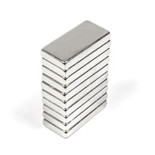 U-JOVAN 10pcs 20 x 10 x 3 mm N35 Small Super Strong Cuboid Block Craft Rare Earth Magnetic Neodymium Cube Magnet