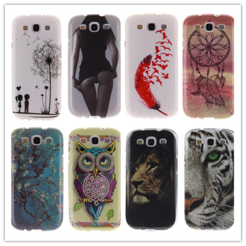 Phone Cover GalaxyS3 GT-I9301 GT-I9300 GT-I9300i I9300 I9301i I9300i TPU Case Samsung Galaxy S3 S 3 SIII Neo Duos Cases