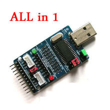 ALL IN 1 CH341A USB to SPI/I2C/IIC/UART/TTL/ISP Serial Adapter Module EPP/MEM converter for Serial Brush debugging RS232, RS485