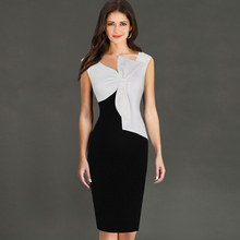 Vfemage Womens Asymmetric Bowknot Neckline Fashion Novelty Ruched Cap Sleeve Slim Casual Work Party Bodycon Dress Pencil 1972