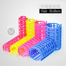 2016 New Fashion 25pcs Plastic Hair Curler Roller Large Grip Cling Hair Styling Curler Hair Styling Tool