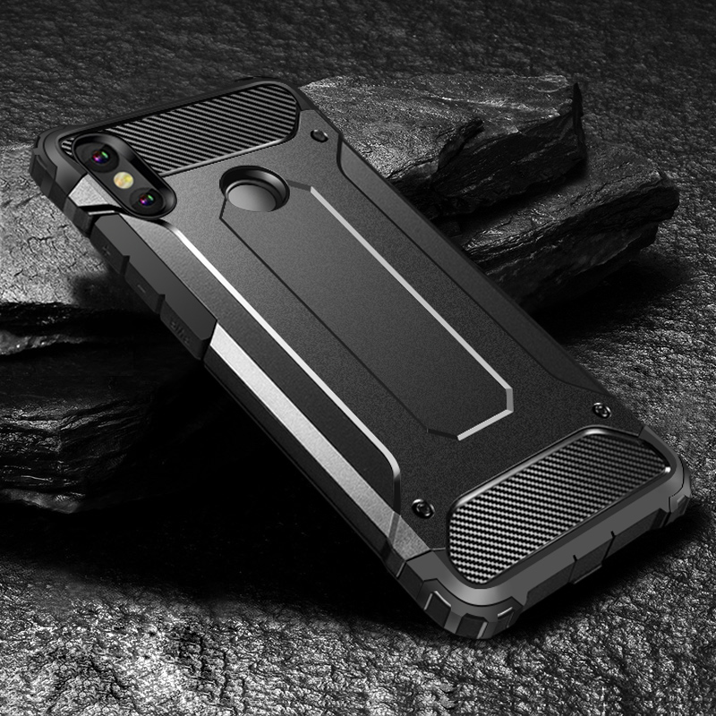Robot Case For Xiaomi Redmi Note 7 Pro 6 5A 4 3 6A 4X 4A 4 5 Plus Go Cases Rugged Armor Cover for Xiaomi Redmi S2 4 3 Pro Capa