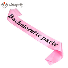 6pcs of wedding event Bachelorette party hens night sashes event party supplies fun souvenir bride to be bridesmaid gift(China)