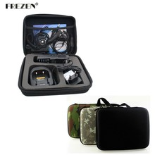 New Two Way Radio Case for BAOFENG UV-82 UV-8D Motorola GP328 Walkie Talkie Bag Launched Hunting Case Black And Camouflage