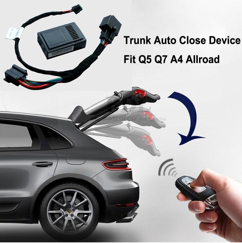 Automatic Electric Trunk Auto Close Device Remote Key Control Trunk Open Module w/ Wiring Harness For Audi Q5 Q7 A4 Allroad<br><br>Aliexpress