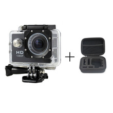 Sports DV Mini Cameras 1080P HD + 1pcs Case bag for Gopro Waterproof 30M Sport Action Camera Helmet Cam Mini Camcorders