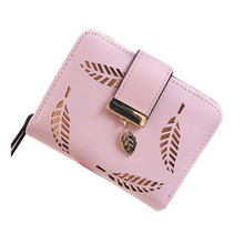 Luxury Square Women's coin purses holders wallet Female Small Leather Wallet Portomonee portfolio lady short carteras(China)