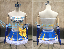 love live Paradise Live AYASHI ELI cosplay costume free shipping custome made headband+top+skirt+stockings+gloves(China)