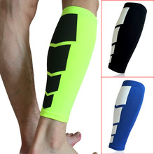 2018 1Pc Unisex Protect Leg Calf Support Stretch Sleeve Compression Soft Comfortable Socks for Outdoor Sports Basketball(China)