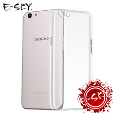 E-SKY Ultra Thin Soft TPU Phone Cases For OPPO A71 A77 A39 A59 A53 A33 Transparent Silicone Case for OPPO(China)