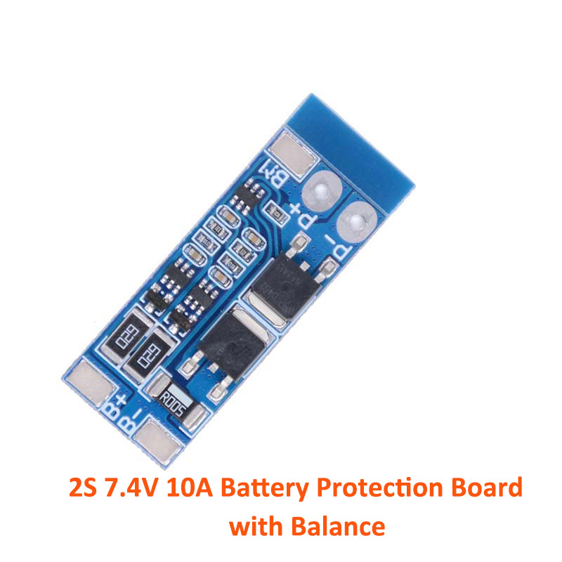 2S/3S/4S  Li-ion Lithium Battery 18650 Charger PCB BMS Protection Board Lipo Cell Module with Balance(China)